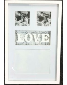 LOVE  Photo Collage Frame