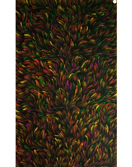 Colourful Abstract Canvas 70x115cm