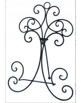 Metal Plate Stand 37.5cm H