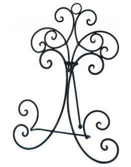 Metal Plate Stand 28.5cm H