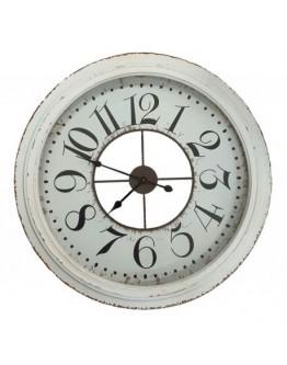 Whitewashed Clock Large 79cm