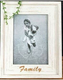 Rustic Wood Family Frame