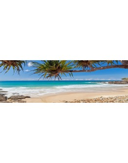Coolum Beach Printed Canvas 158x53cm