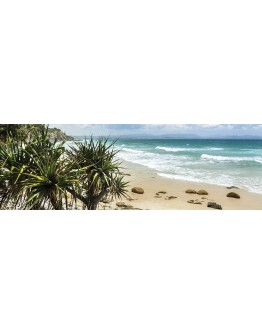 Byron Beach Printed Canvas 158x53cm