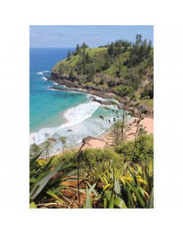 Norfolk Island Printed Canvas 118x80cm