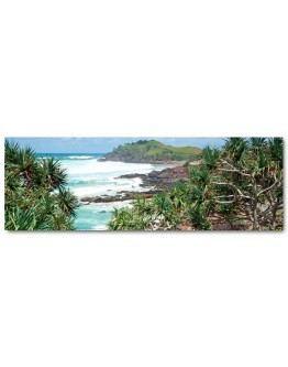 Ocean Lookout Printed Canvas 158x53cm