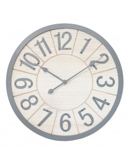Grey Clock XL 60cm