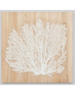 timber white tree artwork 100x100cm
