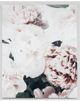Flowers Printed Canvas 120x150cm