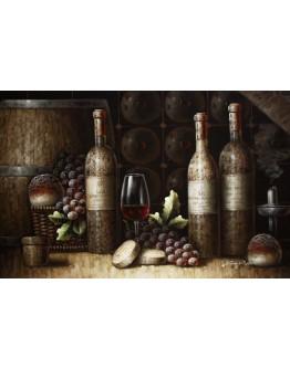 Wine Canvas 90x60cm
