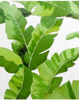 Palm Fronds Canvas 80x100cm